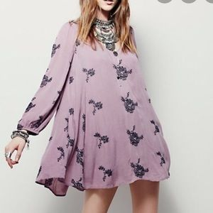 Free People Austin Embroidered Dress